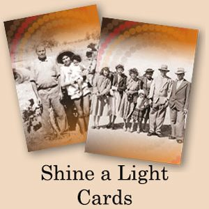 Shine a Light Cards