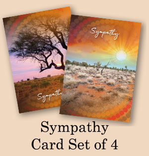 Sympathy Card Set of 4